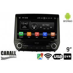Autoradio Android 8,0 Ford Fiesta GPS DVD USB SD WI-FI Bluetooth Navigatore