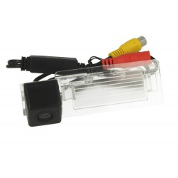 Telecamera Posteriore Per Luce Targa Specifica Audi A4L TT A5 Q5 2009-2012 Linea Guida Effetto Specchio Selezionabile
