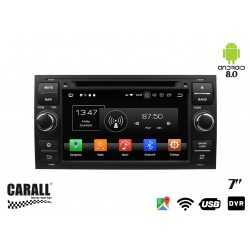 Autoradio Android 8,0 Ford Focus GPS DVD USB SD WI-FI Bluetooth Navigatore
