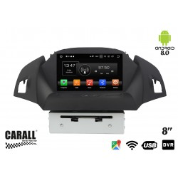 Autoradio Android 8,0 Ford Kuga GPS DVD USB SD WI-FI Bluetooth Navigatore