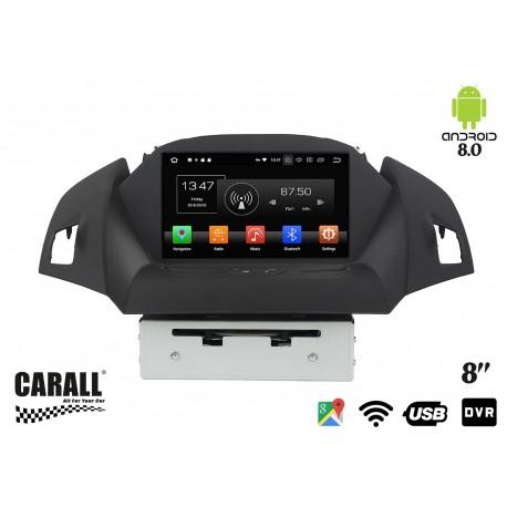 Autoradio Android 8,0 Ford Kuga GPS DVD USB SD WI-FI Bluetooth Navigatore