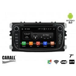 Autoradio Android 8,0 Ford Mondeo GPS DVD USB SD WI-FI Bluetooth Navigatore