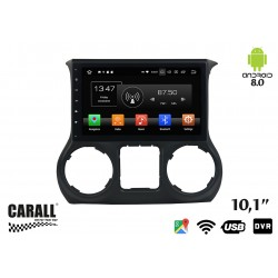 Autoradio Android 8,0 Jeep Wrangler GPS DVD USB SD WI-FI Bluetooth Navigatore