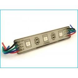 Modulo Mattone LED 3 SMD RGB 7 Colori 12V Impermeabile