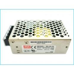 Alimentatore MeanWell Trasformatore 24V 25W 1,1A RS-25-24 Per Illuminazione A Led