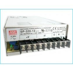Alimentatore MeanWell Interno 320W 25A SP-320-12 Trasformatore Da AC 220V A DC 12V Per Luci Led