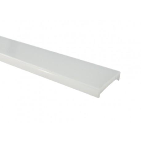 Diffusore Copertura PC Satinata Smerigliato Opaca Per Profilo Alluminio Calpestabile BA1908