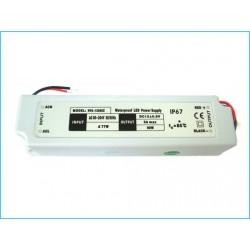 Alimentatore Trasformatore Impermeabile IP67 12V 60W Per Striscia LED