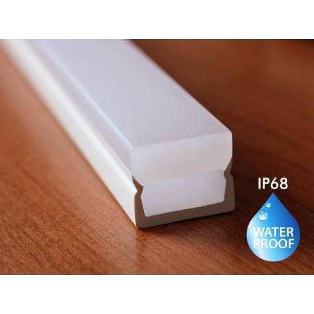 PMMA Profilo Impermeabile Calpestabile Opale Da Pavimento Incasso Per Profilo Alluminio BA2519 e BA1201