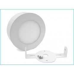 Plafoneria da Soffitto 6W Diametro 120mm Bianco Neutro