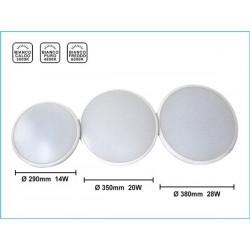 Plafoneria da Soffitto 28W Diametro 380mm Ultra Slim