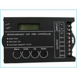 Centralina Led Timer Alba Tramonto Programmabile Time Led Controller Per Acquari Canarini Serre