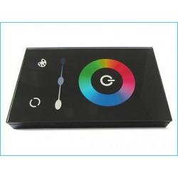 Kit Led Controller RGB Touch Panello Da Incasso Muro Standard Italiano Scatola 503 Rettangolare 12V