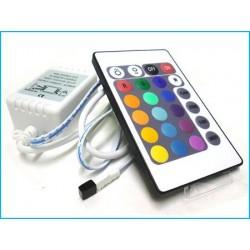 Kit Controller RGB Telecomando IR Infrarossi Per Striscia LED RGB 12V 6A