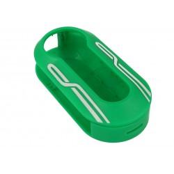 Guscio Cover In Plastica Colore Verde Per Chiavi Telecomando Senza Lama Fiat Grande Punto Evo Panda Bravo Stilo 500L Lancia Y D