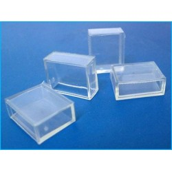 4 Gommini Connettore PVC Per Chiusura Bobina Led