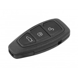 Guscio Chiave Telecomando con 3 Tasti Keyless Senza Transponder Per Ford Focus Fiesta Kuga Ka Mondeo Fusion S-Max C-Max B-Max