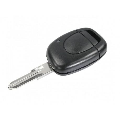 Guscio Chiave Telecomando 1 Tasto con Lama VAC102 Batteria Su Circuito Senza Transponder Per Renault Clio Megane Laguna Espace