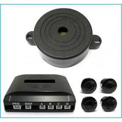 Sensore parcheggio a 4 con cicalino acustico